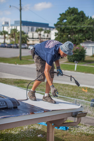 Flat Roof Replacement Process